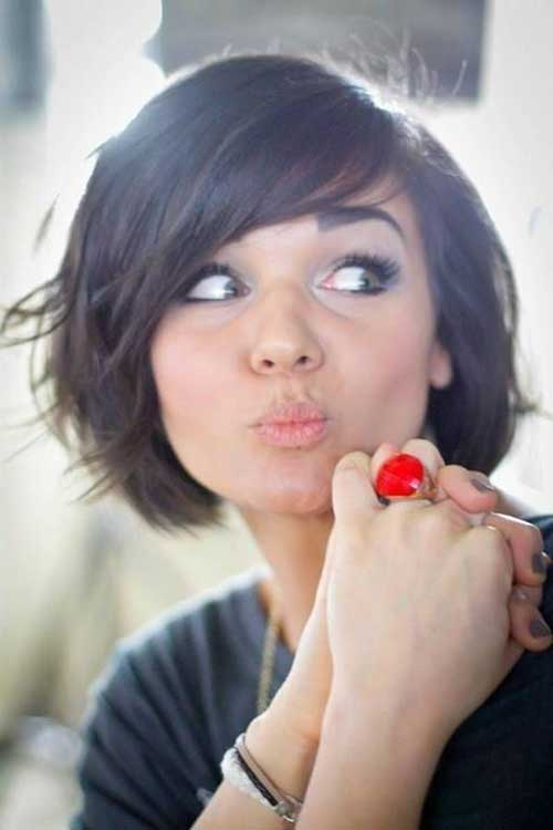 Beautiful Cute Short Bob Hairstyle