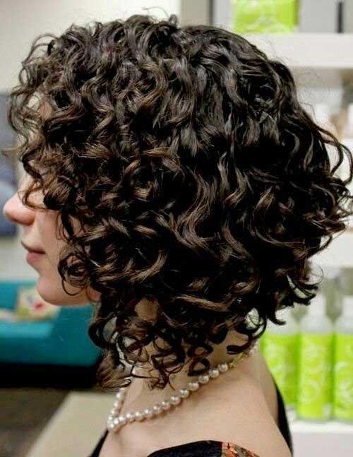 Curly Bob Hairstyles Short 2015
