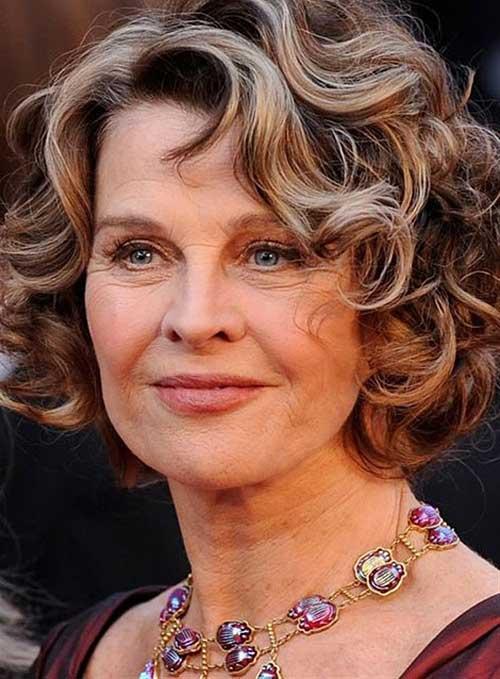 Flattering Haircut for Women Over 40