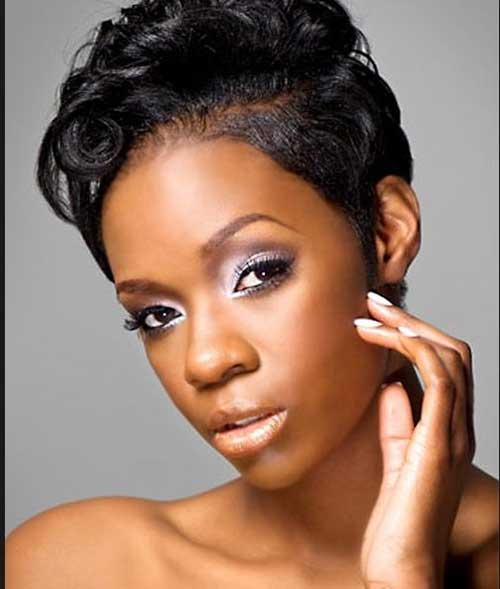 Short Hair Finger Wave Hairstyles Black Women also Black Hair Finger ...