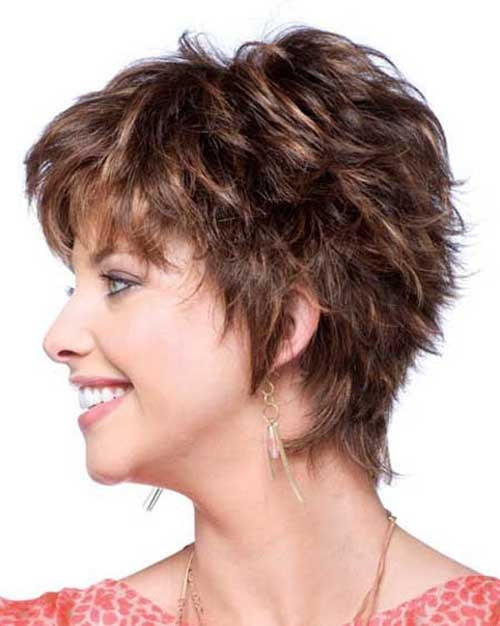 Creative Easy Messy Short Curly Easy Short Hairstyles A Short Layered Hairstyle