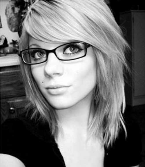 Layered Cute Hairstyles for Short Hair for Girls