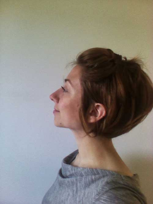 Grow Out Pinned Pixie Cut