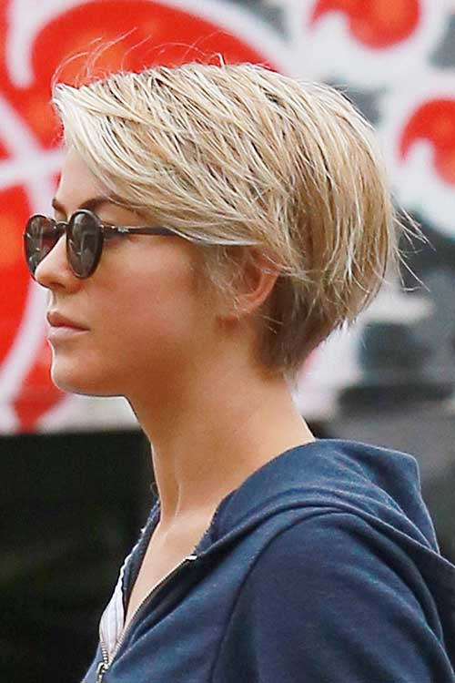 Best Julianne Hough Short Hair Pixie Styles