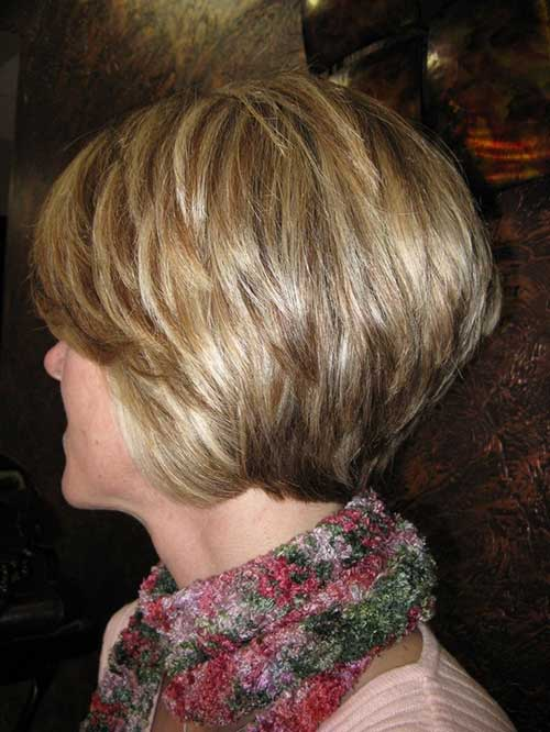 Blonde Long Layered Growning Pixie