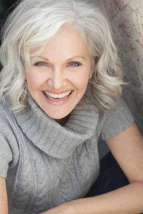 Natural Bob for Older Beautiful Women 2015