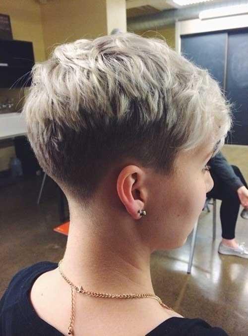 Nice Stylish Pixie Haircut Style 2015