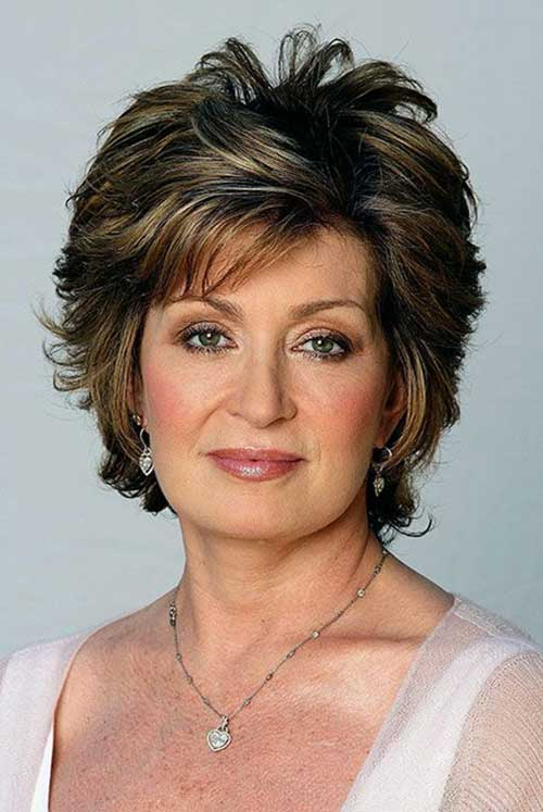 Casual Older Women Short Hairstyles