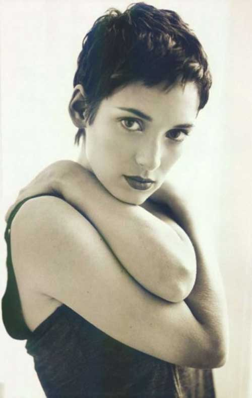 Winona Ryder Pixie with Bangs