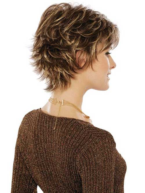 Pixie with Layers for Women