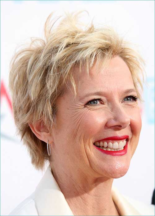 Sexy Short Pixie Haircuts for Older Ladies