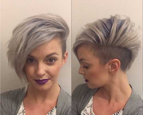 Silver Blue Hair Trends for Girls