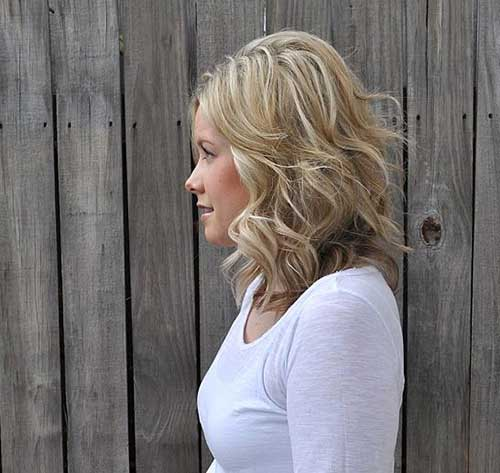 Soft Curly Hair Blondie Colored