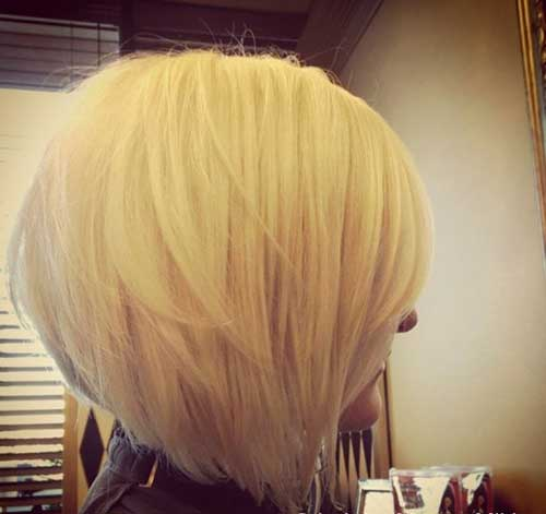 Blondie Stacked Bob Haircuts 2015