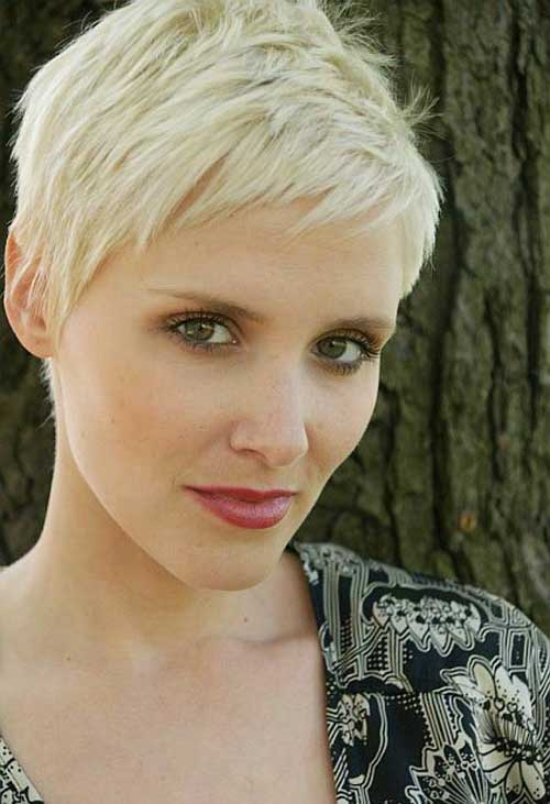 Casual Blonde Pixie Cut for Girls