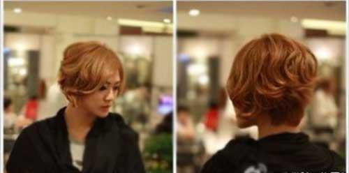 Wavy Cute Bob for Asian Girls