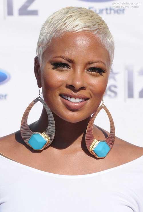 African American Short Blonde Hairstyles
