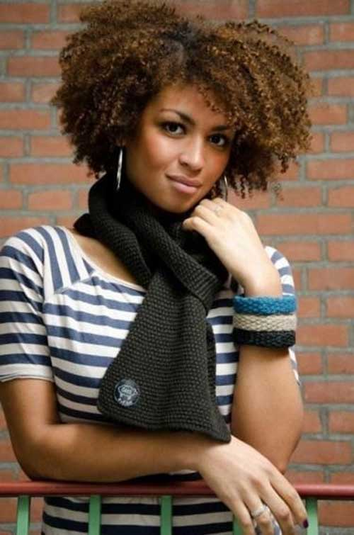 Kinky Afro Hairstyles for Short Hair