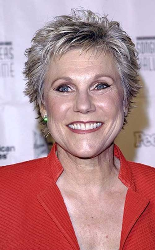 Anne Murray Haircut for Women Over 50