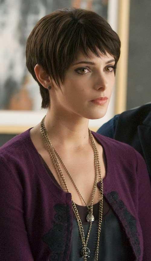 Ashley Greene Cool Pixie Cut
