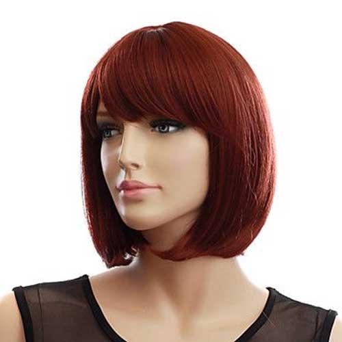 Auburn Red Bob Hairstyles