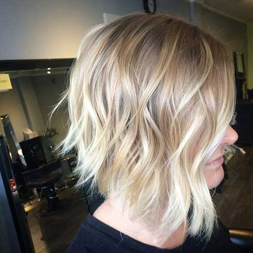 New Blonde Balayage Short Hair | The Best Short Hairstyles for Women ...