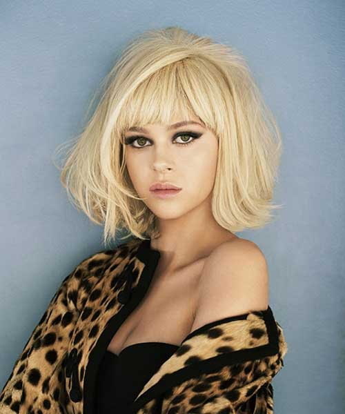Best Layered Blonde Hair with Bangs