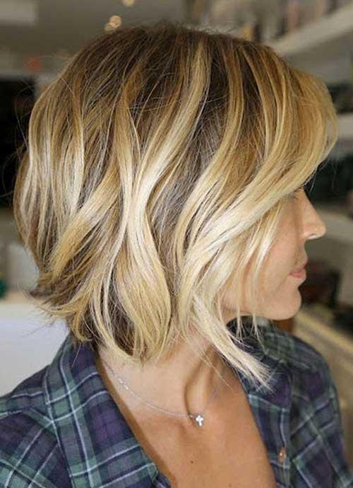 Best Short Brown Blonde Hair