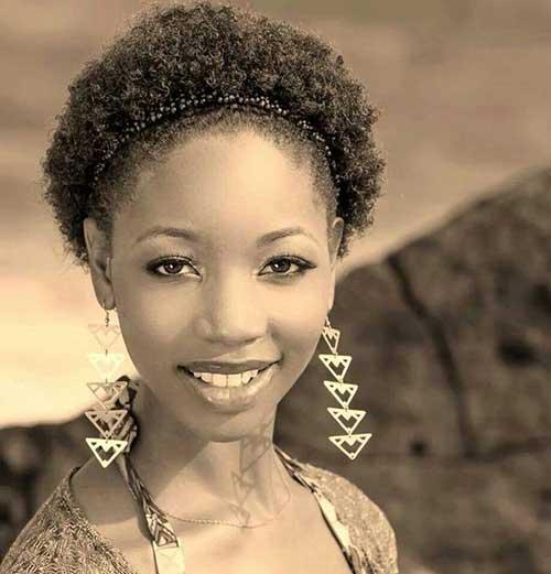 Astounding Short Curly Afro Hair Cool Heleenvanoord Com Short Hairstyles Gunalazisus