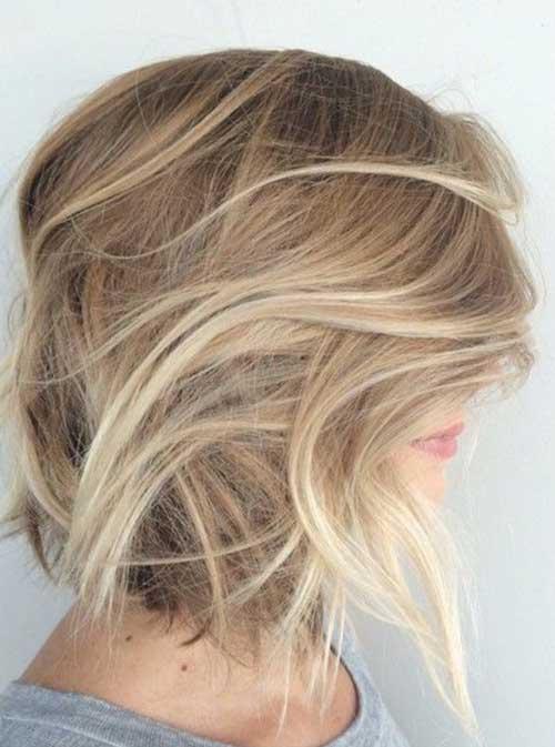 Blonde Balyage Bob Hairstyles