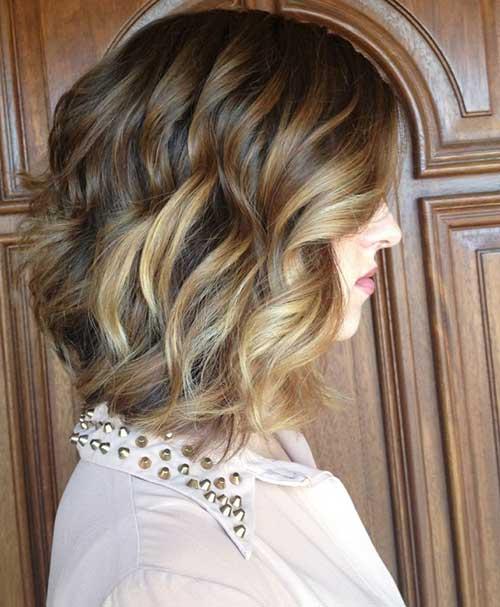 Best Blonde Balyage for Short Hair