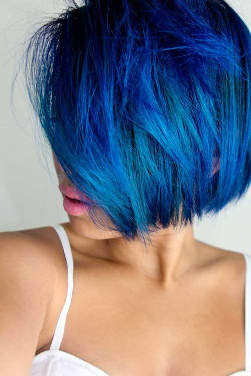 Short Hair Blue The Best Short Hairstyles For Women 2015