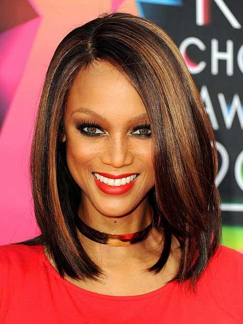 Straight Bob Hairstyles for Black Women