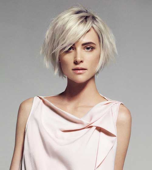 Best Bob Hairstyles with Asymmetrical Bangs