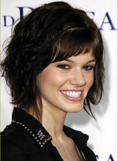 Bob Hairstyles with Side Bangs for Thick Hair