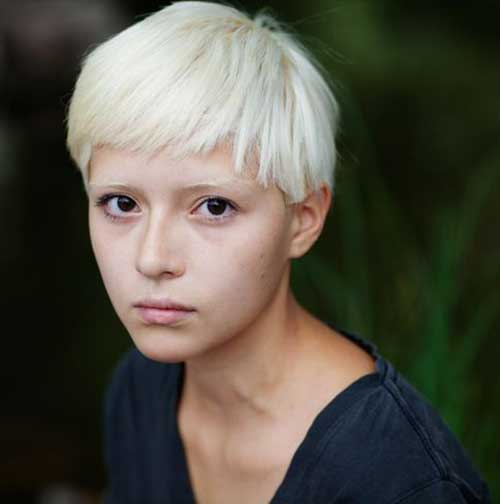 Bleach Blonde Short Hair | The Best Short Hairstyles for ...