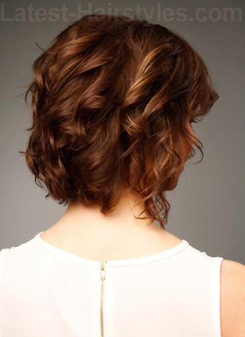 Best Casual Short Hair Back View