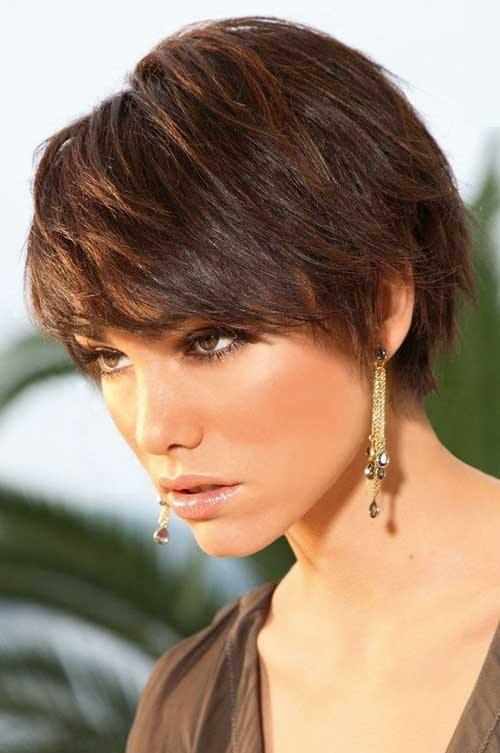 Casual Short Hair for Thick Hairdos