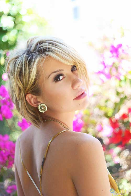 New Chelsea Kane Cute Short Bob Hairstyle