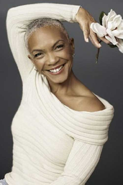 Choppy Pixie Hairstyles for Black Women Over 50