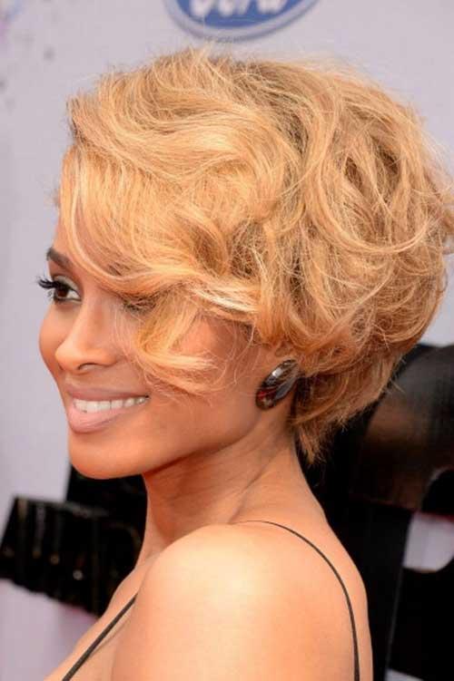 Ciara Blonde Curly Hair