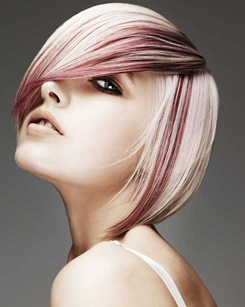 Best Color Streaks with Short Hair