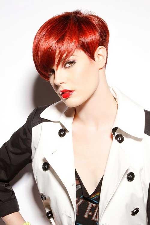 Cool Red Pixie Cut Ideas