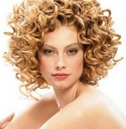 Curly Permed Hairstyles for Women