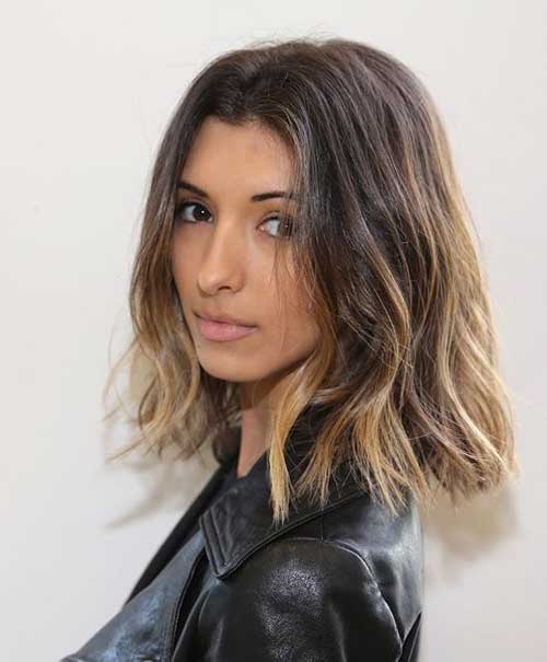 Dark blonde short hairstyles the best short hairstyles - Long bob ombre ...