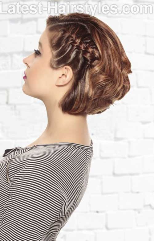 Easy Braids for Short Hairstyles