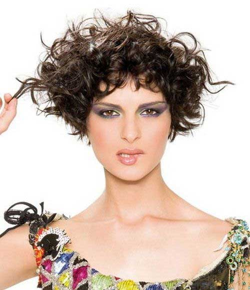 Easy Dark Curly Hairstyles for Girls