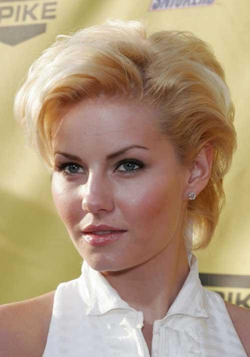 Elisha Cuthbert Layered Short Hairstyles