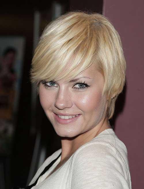 Elisha Cuthbert Straight Short Hairstlyes