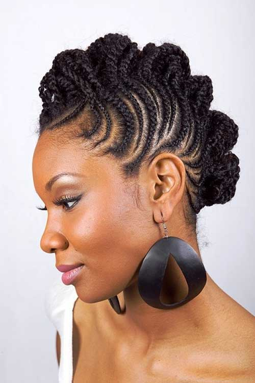 Best Hairstyles for Black Women Braid Short Hair
